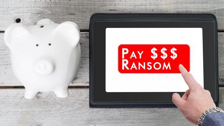 Pagare ransomware