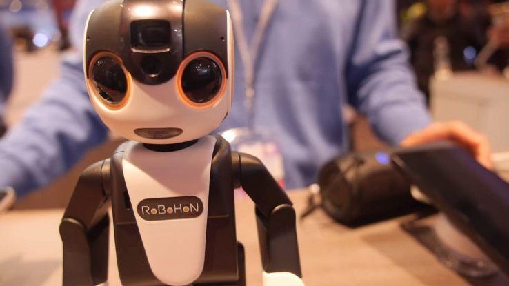 RoBoHon il robot-smartphone della Sharp che riconosce le emozioni