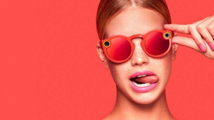 Spectacles: gli occhiali di Snapchat per fare video circolari