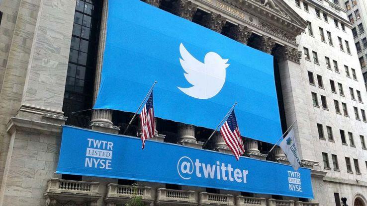 Twitter il giorno del lancio a Wall Street