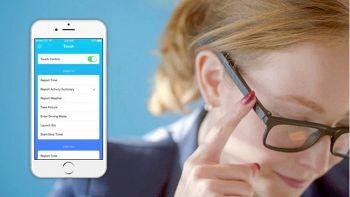 Vue, gli occhiali del futuro con il GPS che fanno foto e chiamate