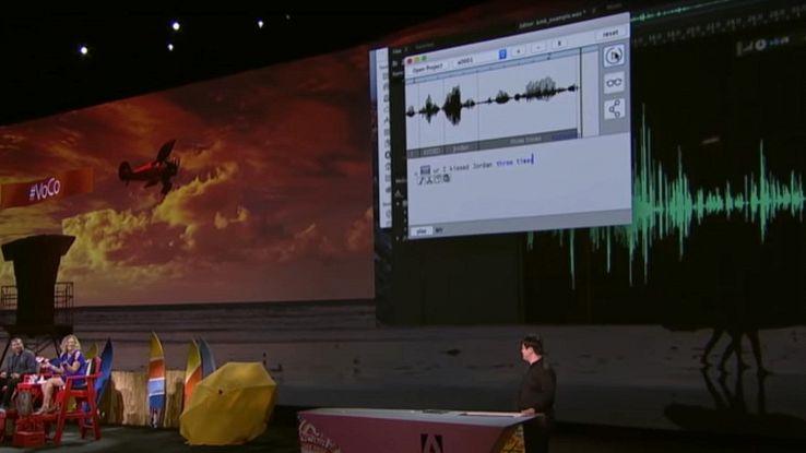 Adobe svela qualche funzione di Photoshop VoCo per l'audio