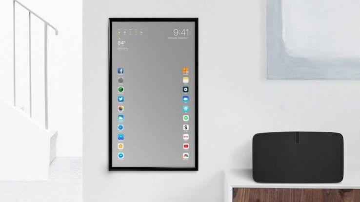 Apple Mirror: lo specchio intelligente che gestisce le nostre app