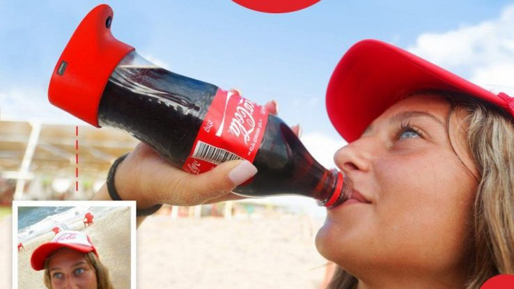 coca cola selfie