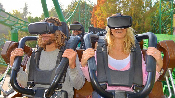 Gardaland realtà virtuale