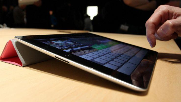 Il nuovo iPad sarà senza tasto home e a tutto schermo