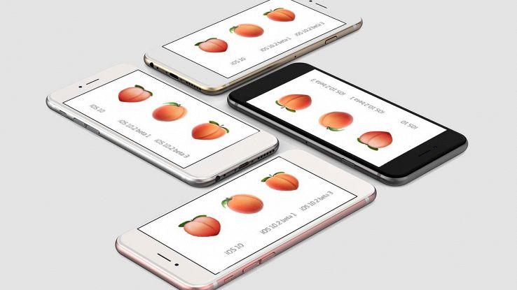 Gli amanti del sexting vincono, torna la pesca tra le emoji iOS