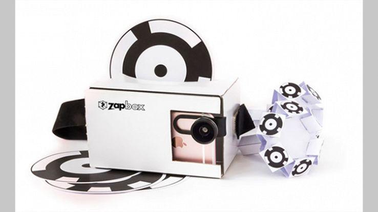 ZapBox, il visore per la realtà aumentata da 30 dollari