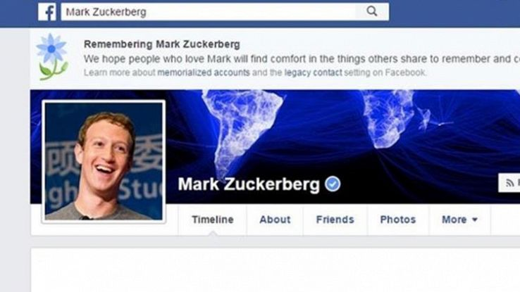 Morto Zuckerberg su Facebook, ma è solo un bug. E ha riguardato tutti