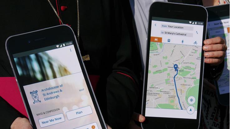 La Chiesa Cattolica presenta la sua app per smartphone in Vaticano