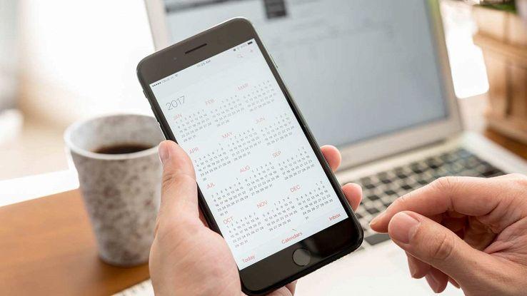 App calendario iPhone