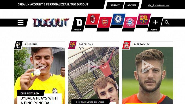 Dogout, social del calcio