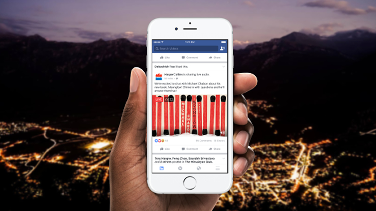 Facebook Live Audio trasforma i talk radio in eventi social