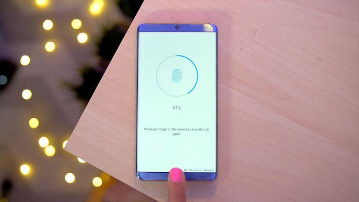 Rendering Galaxy S8