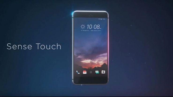 Una delle immagini rubate dei prossimi smartphone HTC