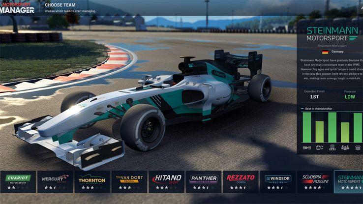 Ecco Motorsport, il Football Manager per gli amanti della Formula 1