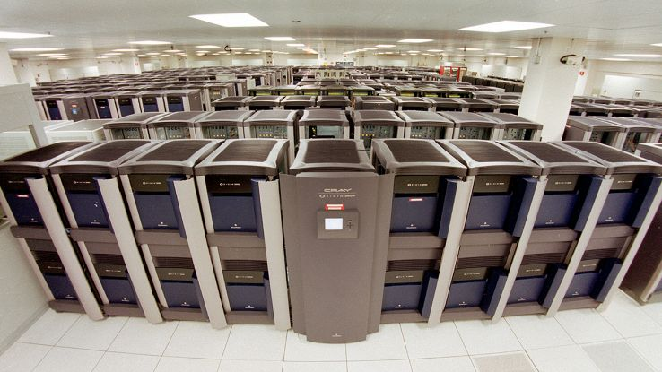 Rack supercomputer