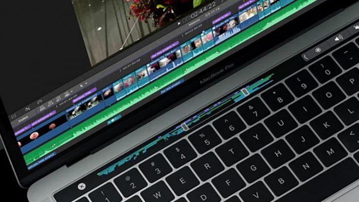 MacBook Pro con touch bar