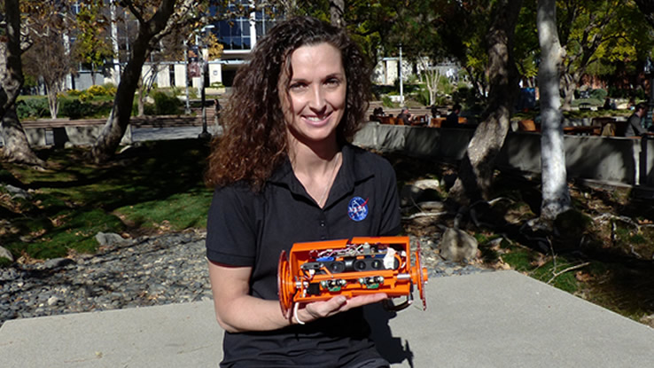 NASA sviluppa un mini robot per esplorare i meandri dei vulcani