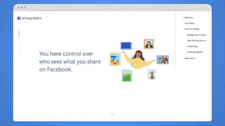 Facebook migliora la privacy: più controllo nelle mani degli utenti