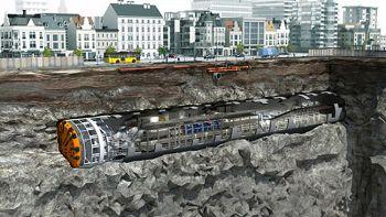 Al via i primi scavi per il tunnel sotterraneo per le automobili