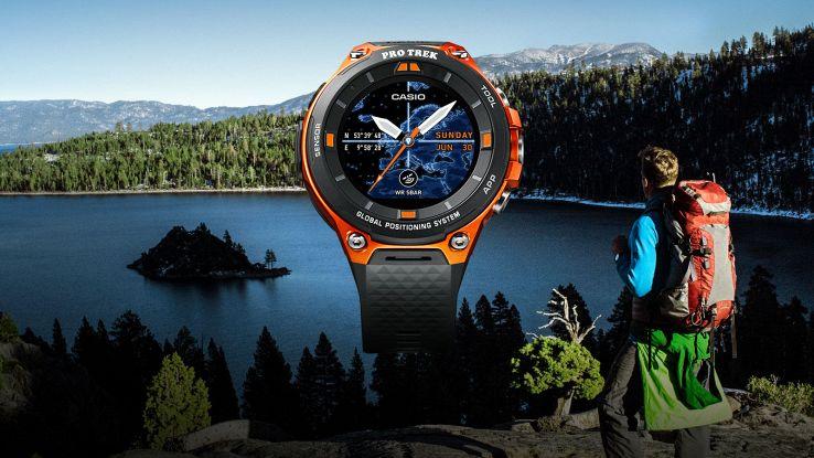 CES 2017: ecco lo smartwatch per escursioni e gite in kayak di Casio