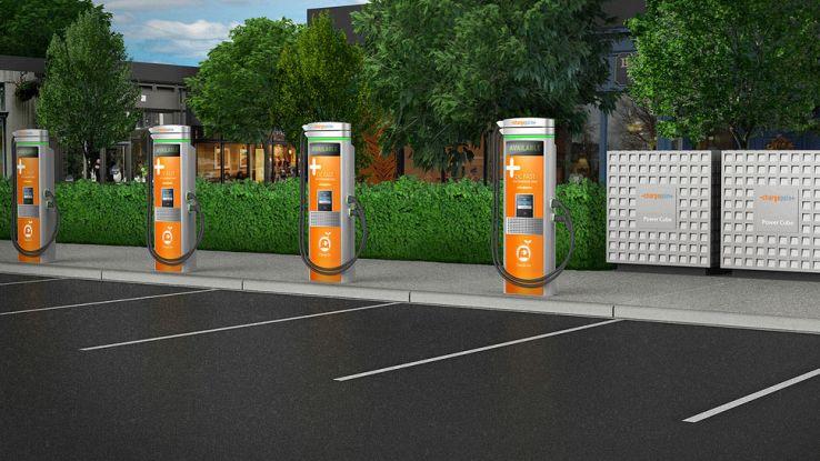 Ricaricare l'auto elettrica in quindici minuti con Charge Point
