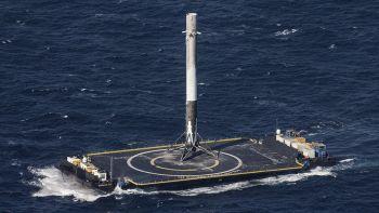 Falcon 9 atterratto in mare