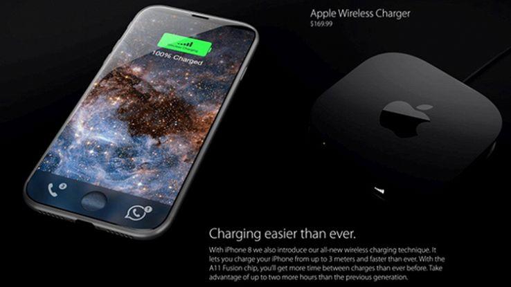 IPhone 8, arrivano nuovi dettagli sulla ricarica wireless