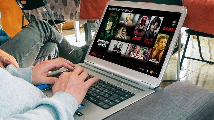 Netflix su computer