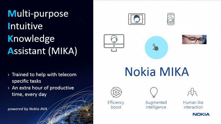 Nokia presenta Mika, l'assistente personale del futuro