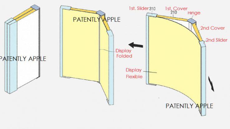 Samsung presenta nuovi brevetti per lo smartphone pieghevole