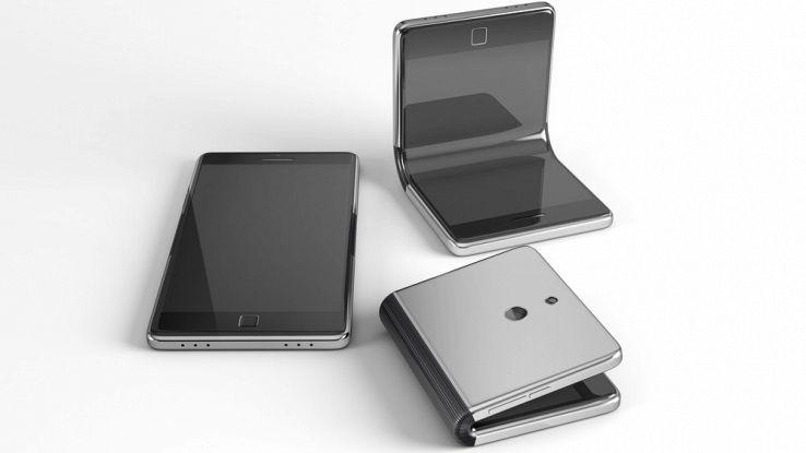 Samsung, lo smartphone pieghevole arriva a novembre