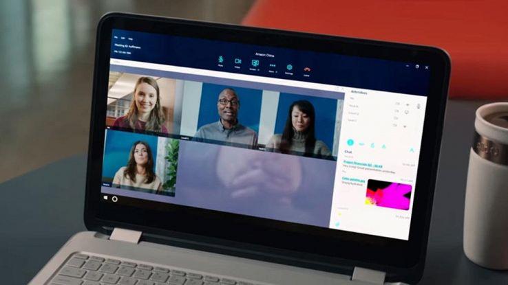 Amazon Chime, il servizio di videochiamate per le aziende