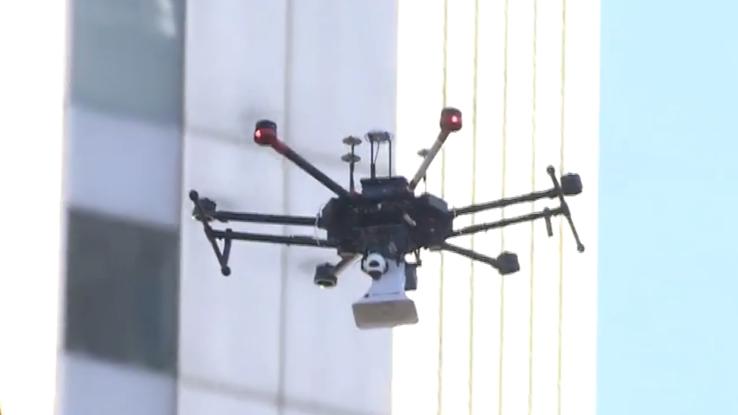 I droni salveranno le persone in caso di disastri e calamità naturali