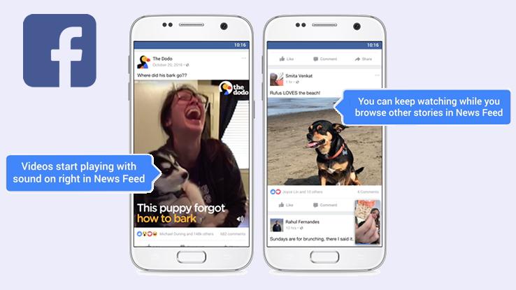 Facebook lancia la funzione Storie. Novità anche per i video
