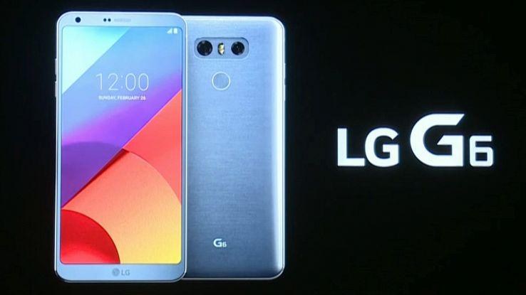 """LG G6 lo smartphone con uno schermo da """"Oscar"""" presentato al MWC 2017"""