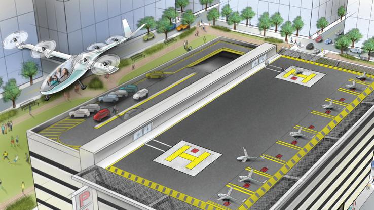 Uber al lavoro per produrre i taxi volanti. Scadenza fissata al 2020