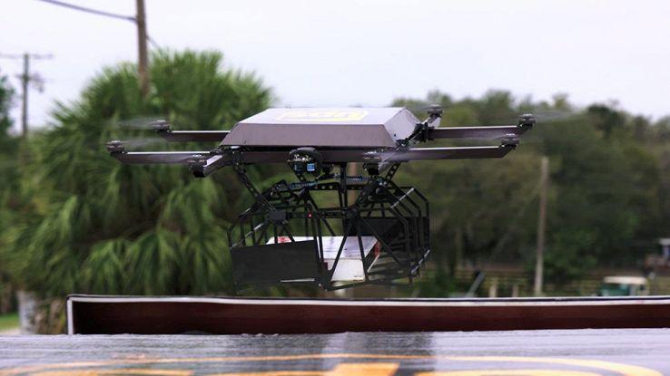 UPS sperimenta i droni autonomi per la consegna merci in tempi record