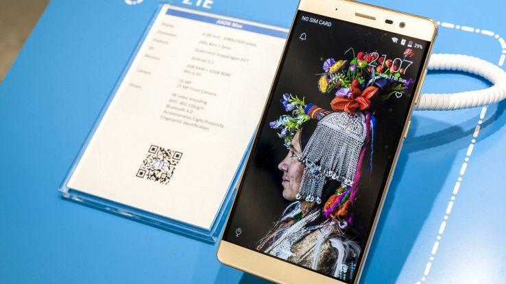 ZTE Gigabit Phone, lo smartphone 5G più veloce di sempre