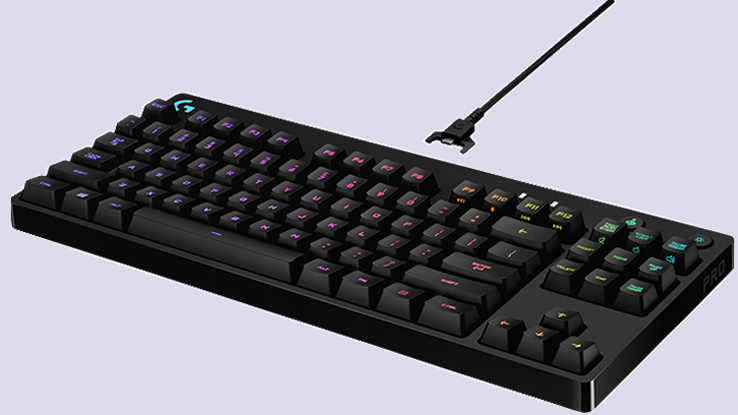 La tastiera Logitech G Pro Mechanical Gaming nata per vincere