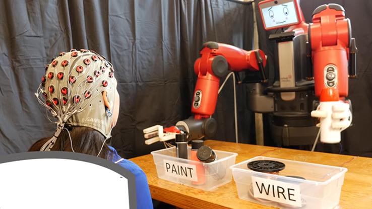 Il MIT ha scoperto come controllare i robot con la forza del pensiero