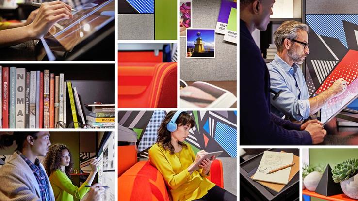 Surface Office, l'innovativo ufficio Creative Space firmato Microsoft