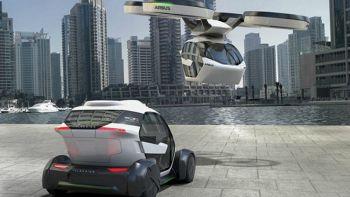 L'auto del futuro che si trasforma in drone e parla italiano. Foto