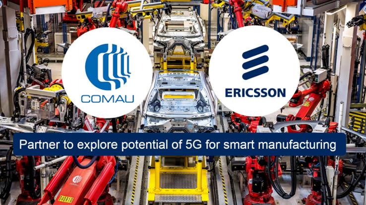 5G e Industria 4.0: accordo tra Ericsson e Comau al MWC 2017