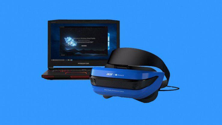 Microsoft e Acer insieme per il visore mixed reality per la Xbox