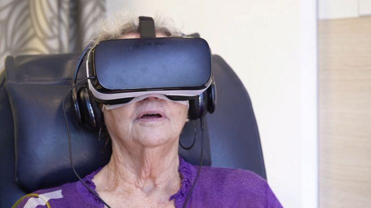 In Australia aiutano i malati di cancro con la realtà virtuale