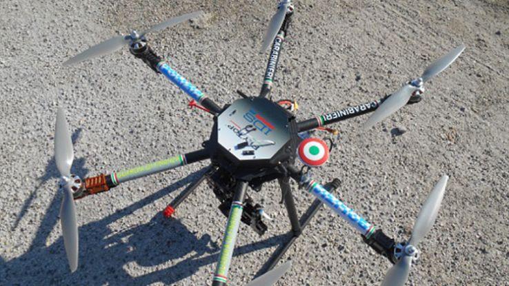 Droni-poliziotto: avviata la sperimentazione anche in Italia