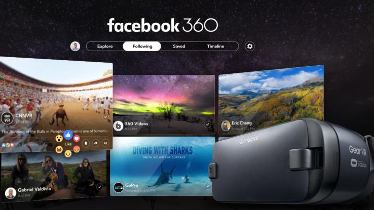 Facebook 360, la nuova app per vedere video e foto in realtà virtuale