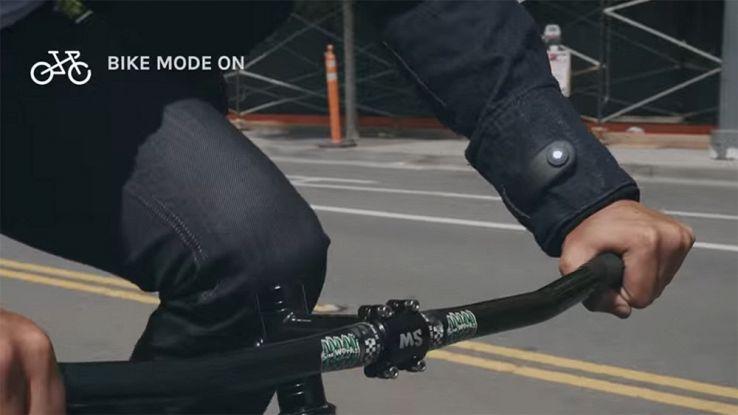 Commuter, la giacca smart realizzata da Levi's e Google da 350 dollari